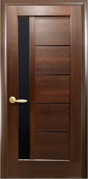 Дверне полотно колекція «Ностра» модель «Гретта» BLK