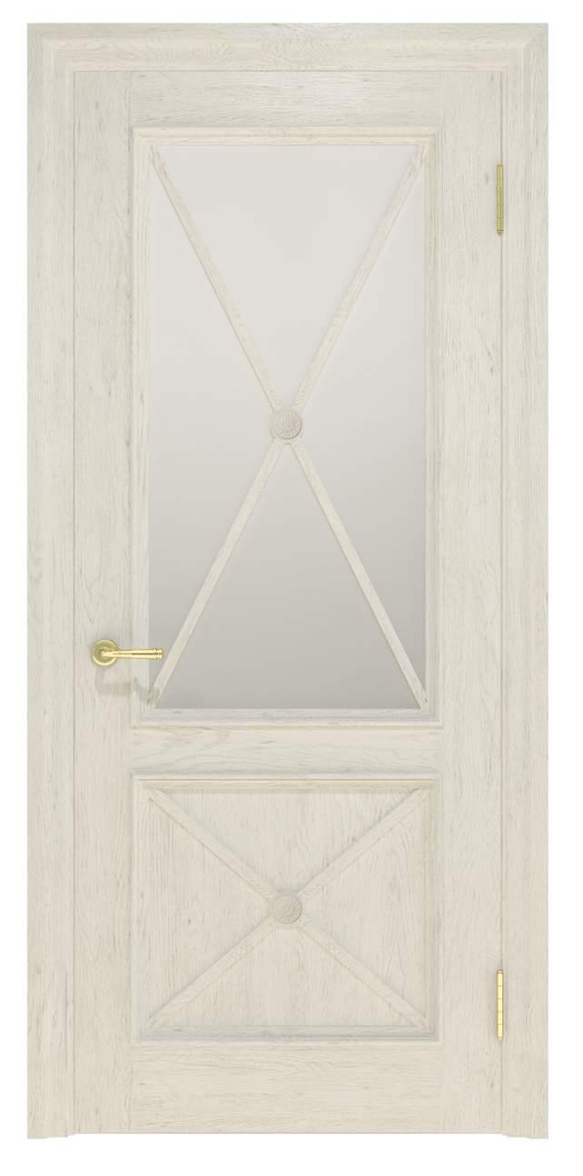 Міжкімнатні двері Cross 012.S01 молочний TM